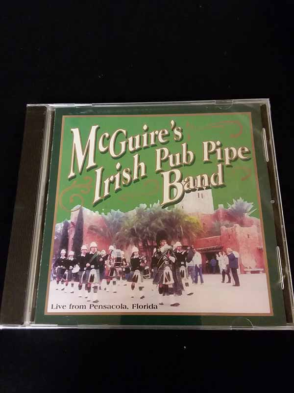 McGuires Irish Pub Pipe Band