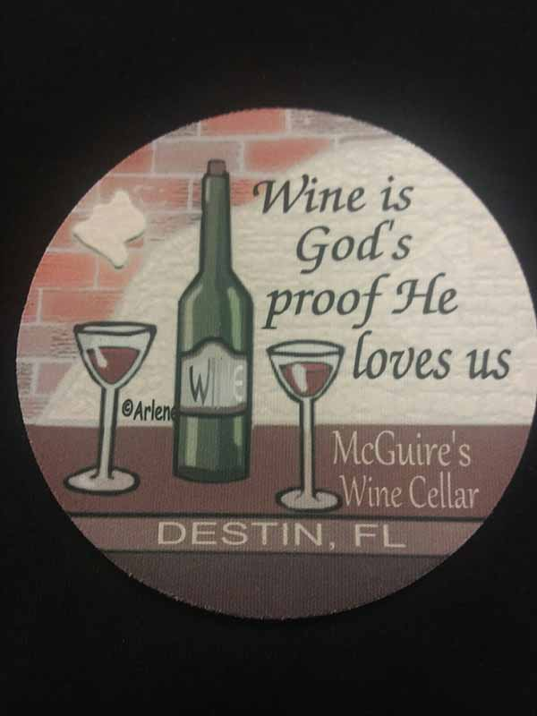 Wine is Gods Coaster