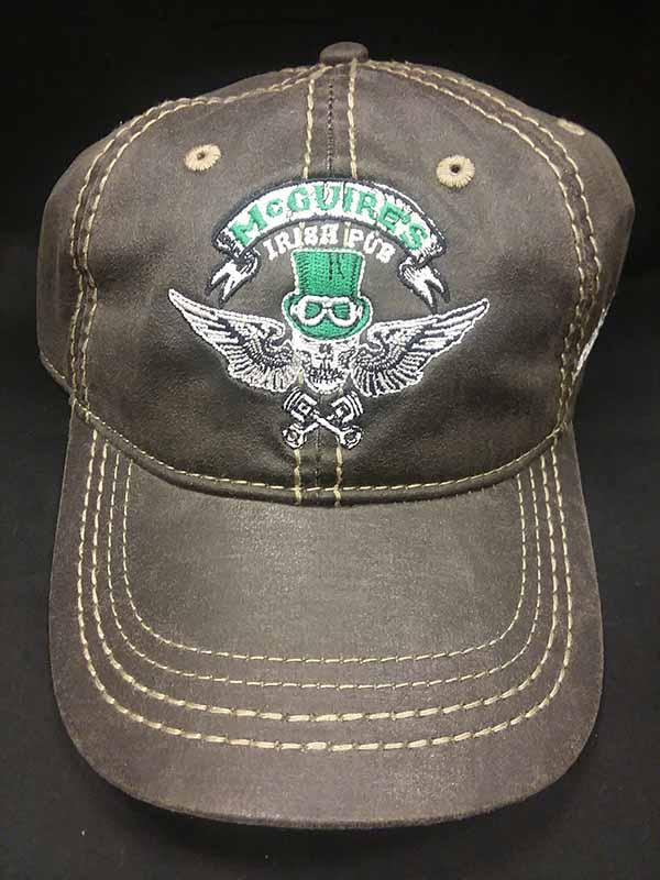 Biker Skull Black Hat