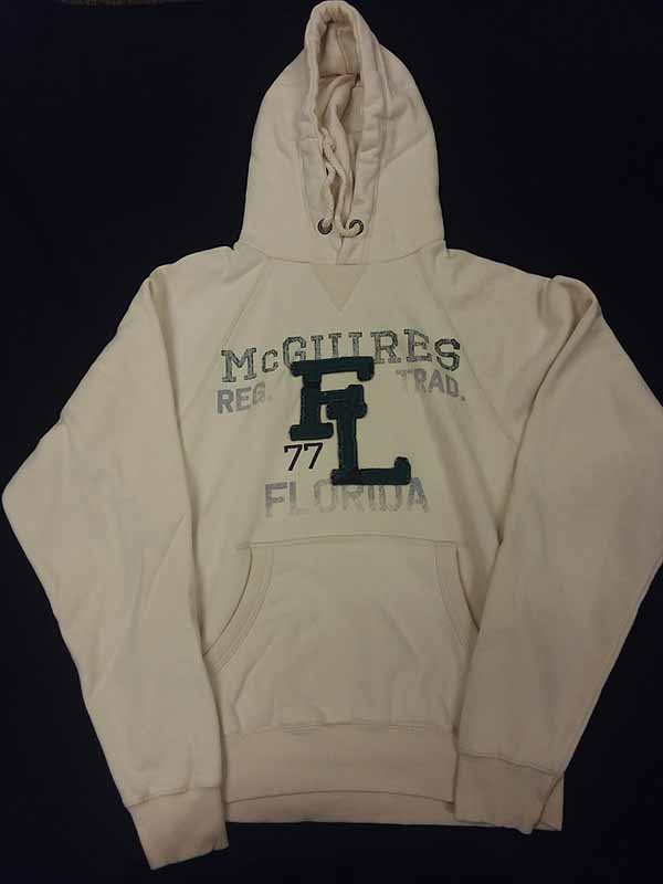Letterman Font Pullover Hoodie