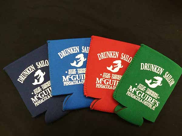 New Drunken Sailor Koozies