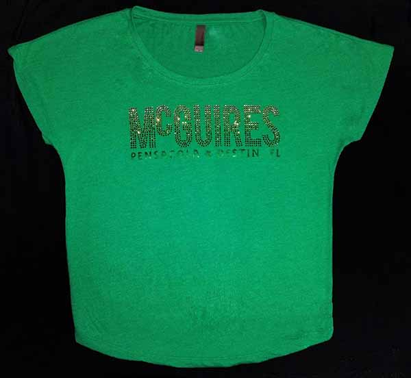 McGuires Ombre Rhinestone Ladies Fit