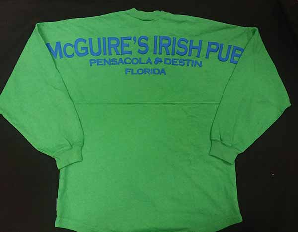 McGuires Puff Logo Long Sleeve