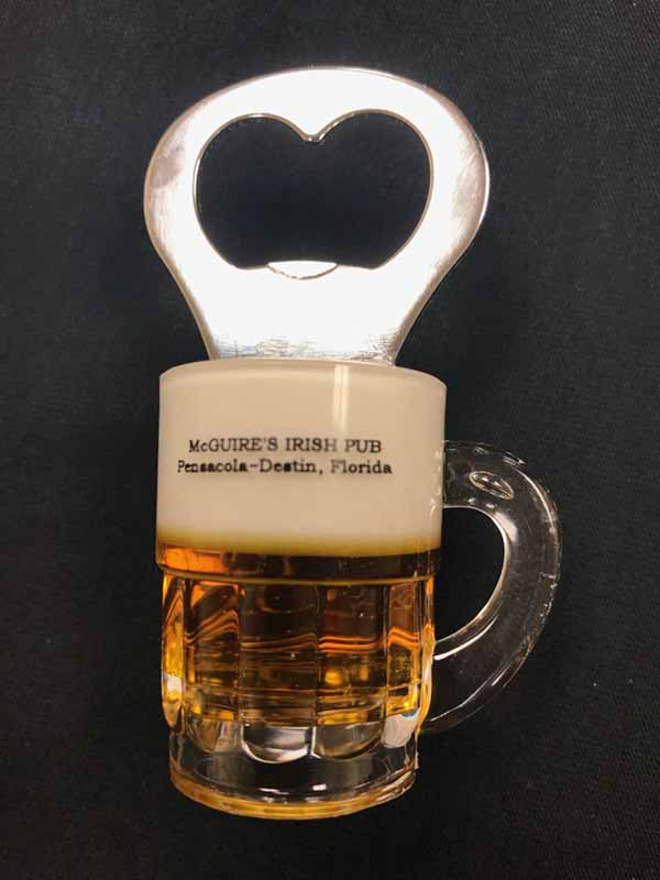 MCG Bottle Opener Magnet