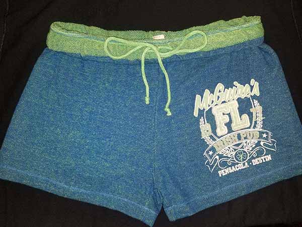 Jr Loose Shorts - Green