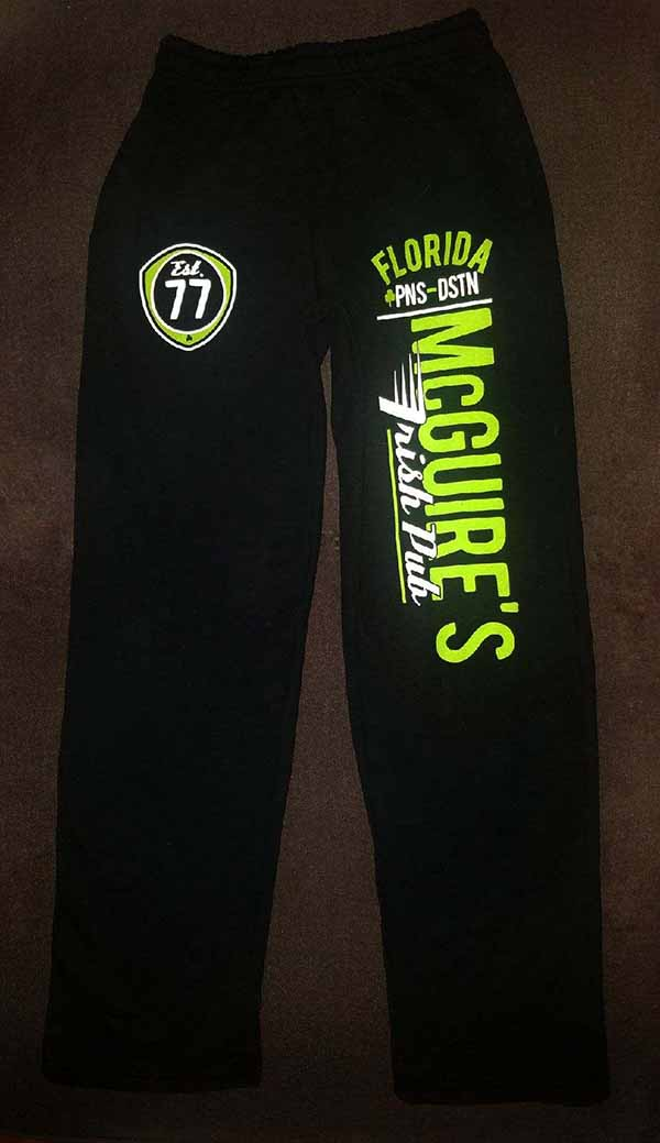 McGuires Speeder Sweatpants Black