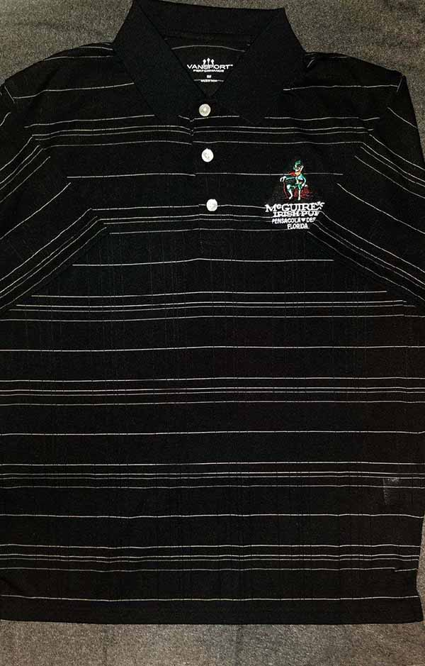 McGuires Textured Polo