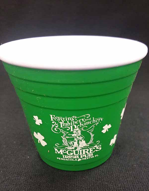 McGuires Logo Party Shot Glass