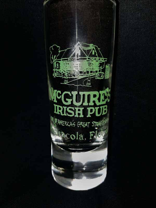 Pensacola Shot Glass