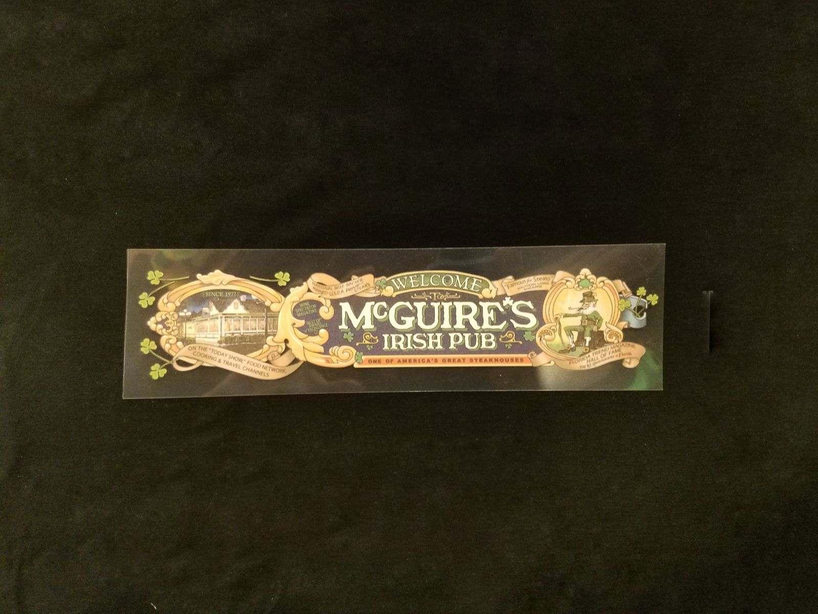 Mcguires Decal