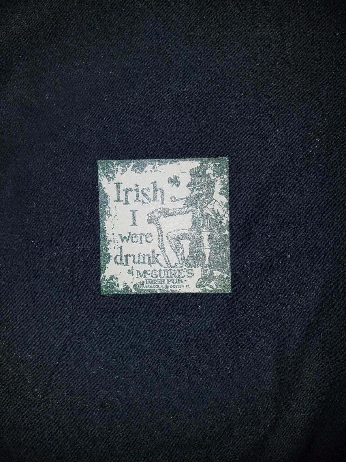 Irish I Were Drunk Decal
