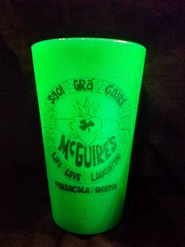 Silicone Claddaugh Pint Glass Silipint