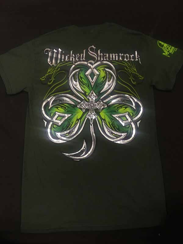 McGuires Wicked Foil Shamrock