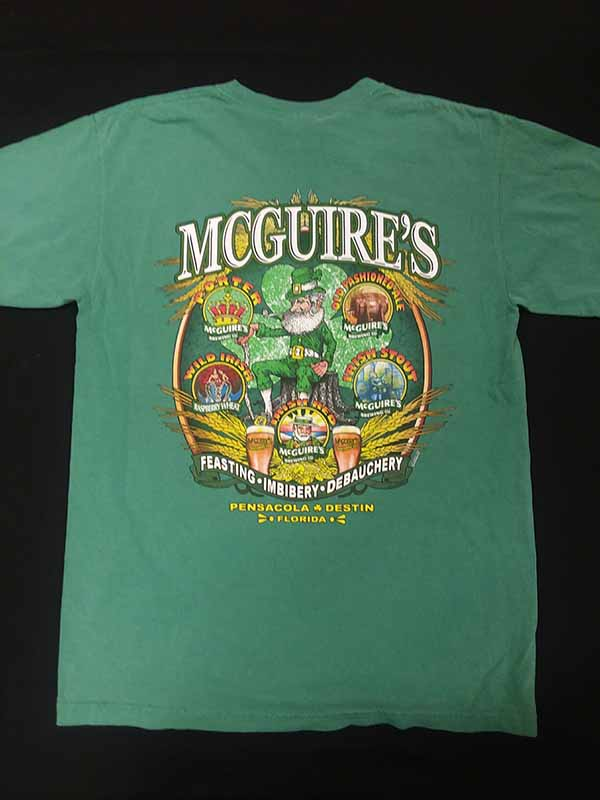 McGuires Beer Label