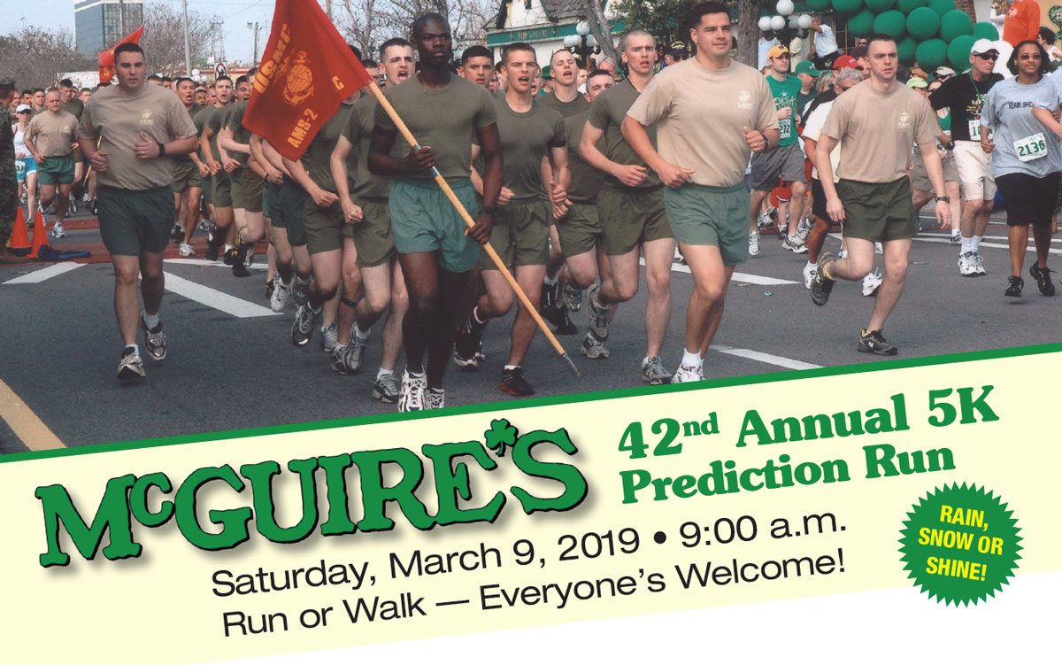 McGuires St Patricks Day 5k Run 2017