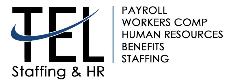 TEL Staffing Logo