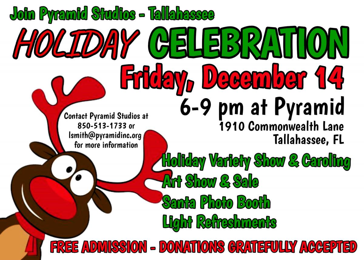 Pyramid Studios Holiday Celebration