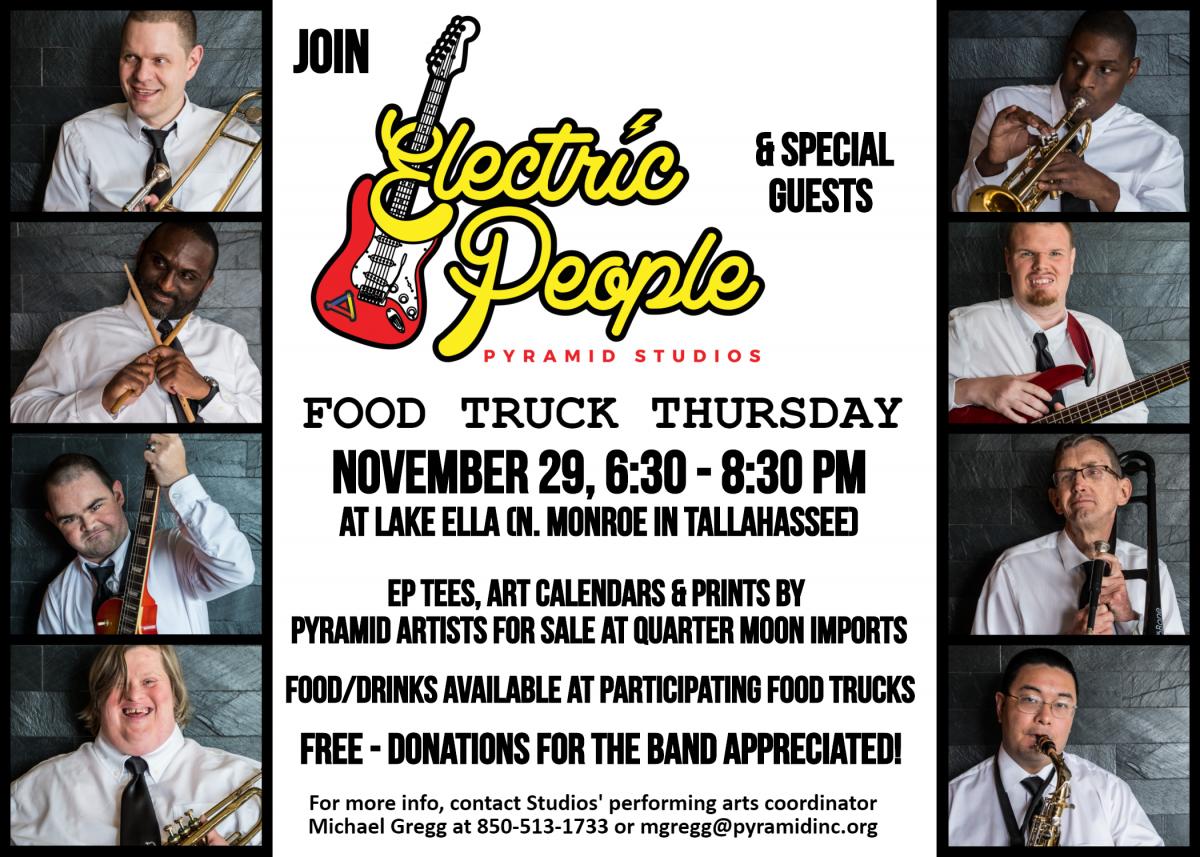 Electric People at Lake Ella Flyer