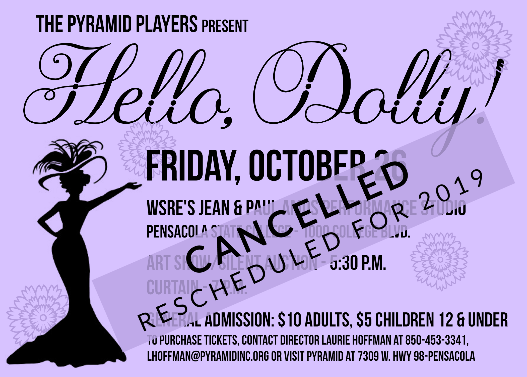 Hello Dolly Event Flyer