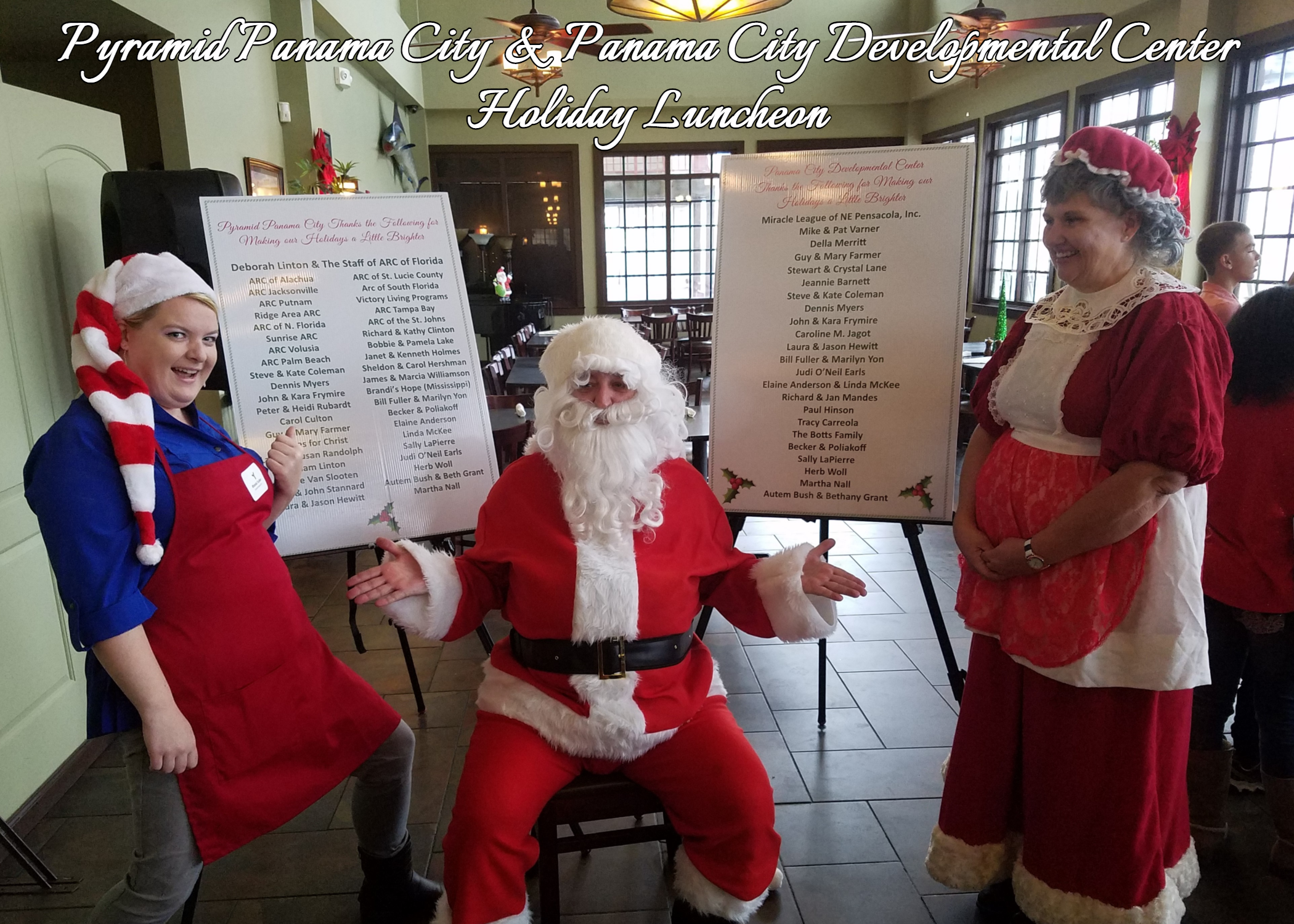 Photo of Pyramid & PCDC Holiday Luncheon