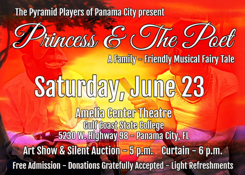 Princess and the Poet event flyer