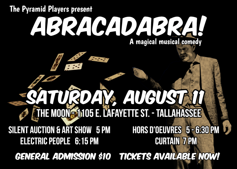 Abracadabra event flyer