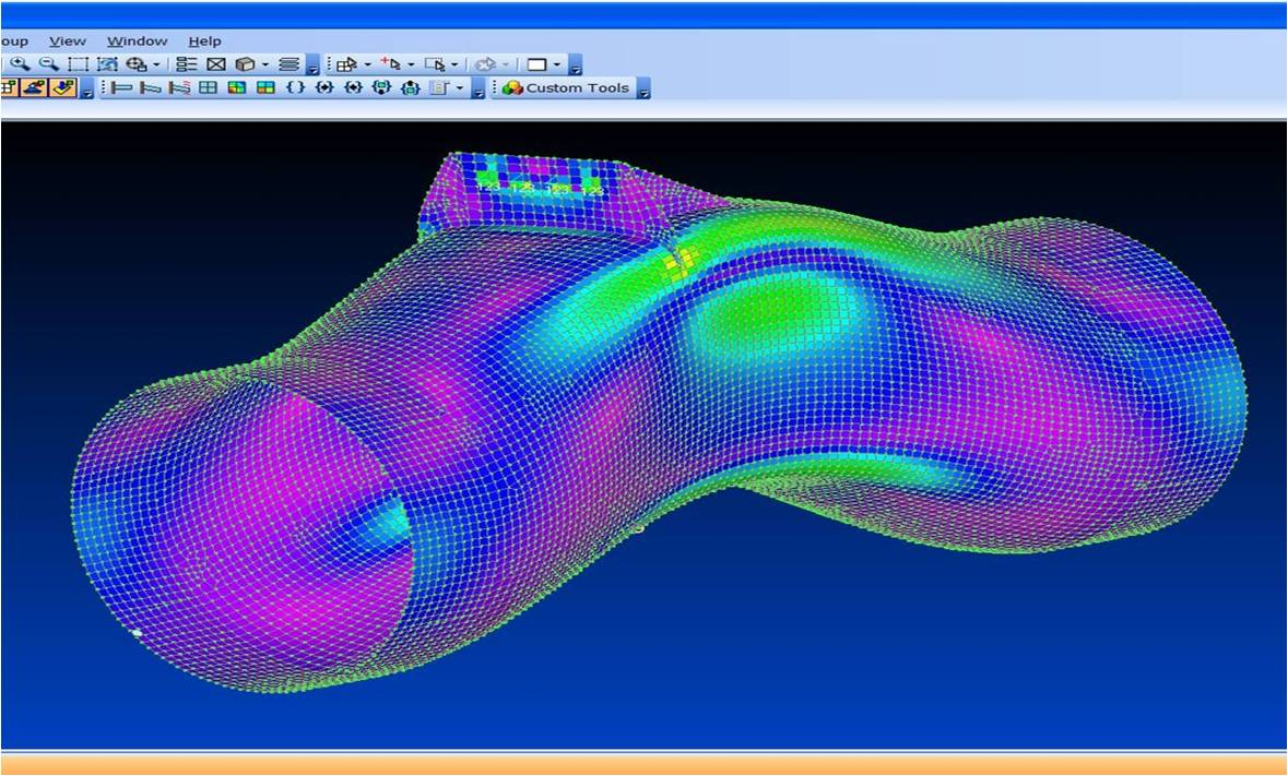 Image of 3D Printed Duct Analysis