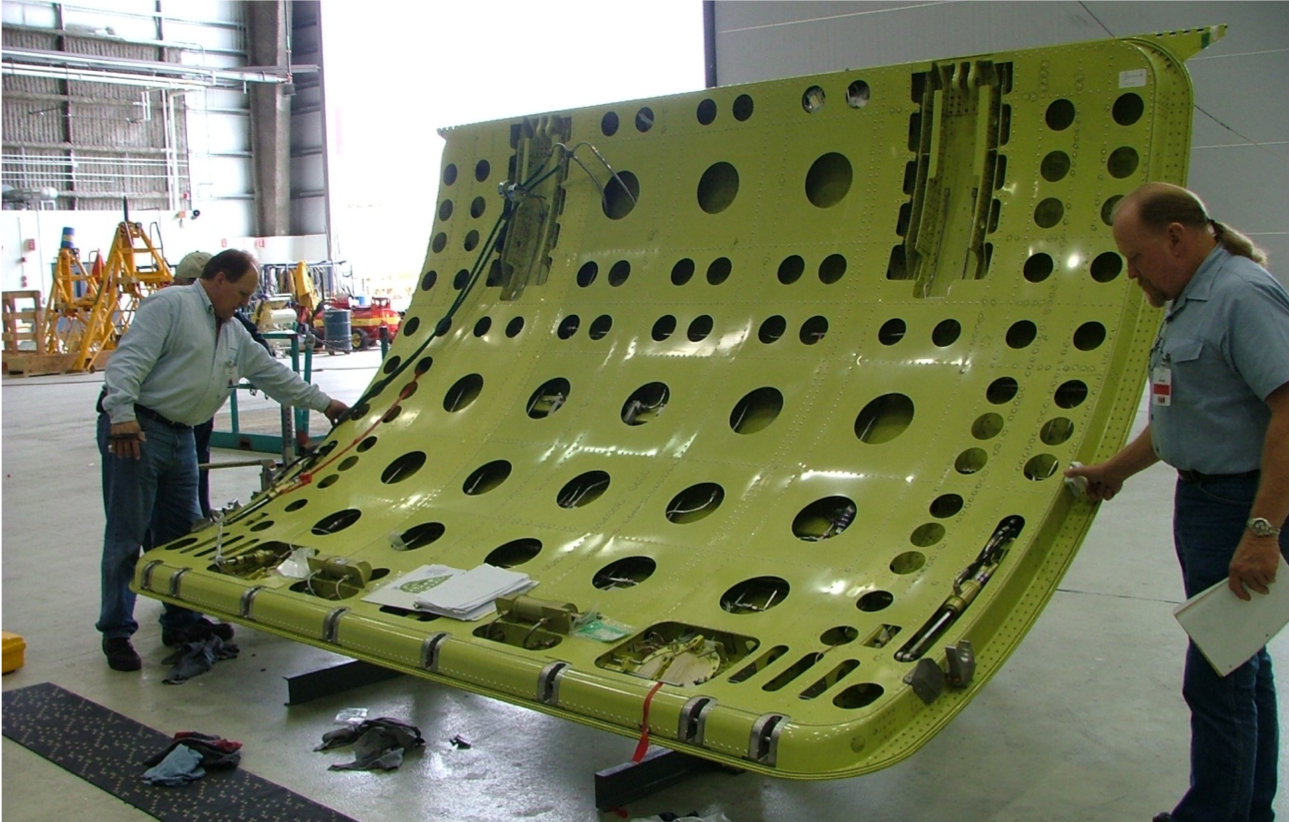 image of the inside of wing