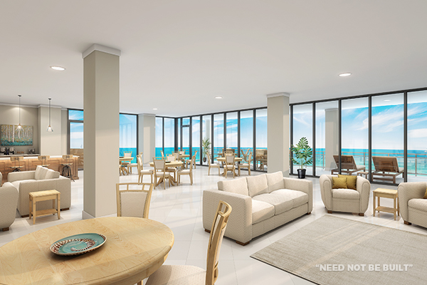 Positano Clubhouse rendering - Need not be built