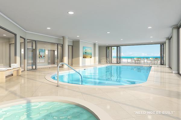 Positano indoor pool - Need not be built