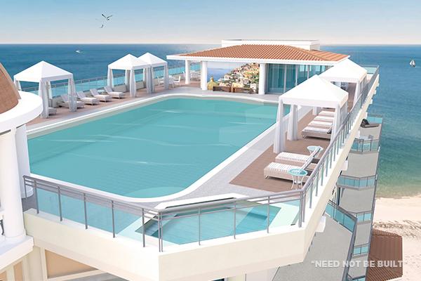 Positano pool - Need not be built