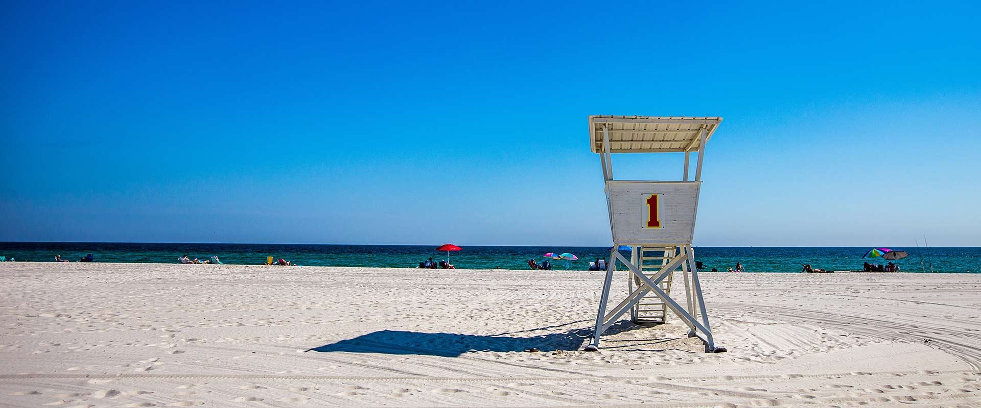 Lifeguard Stand on Orange Beach, Alabama