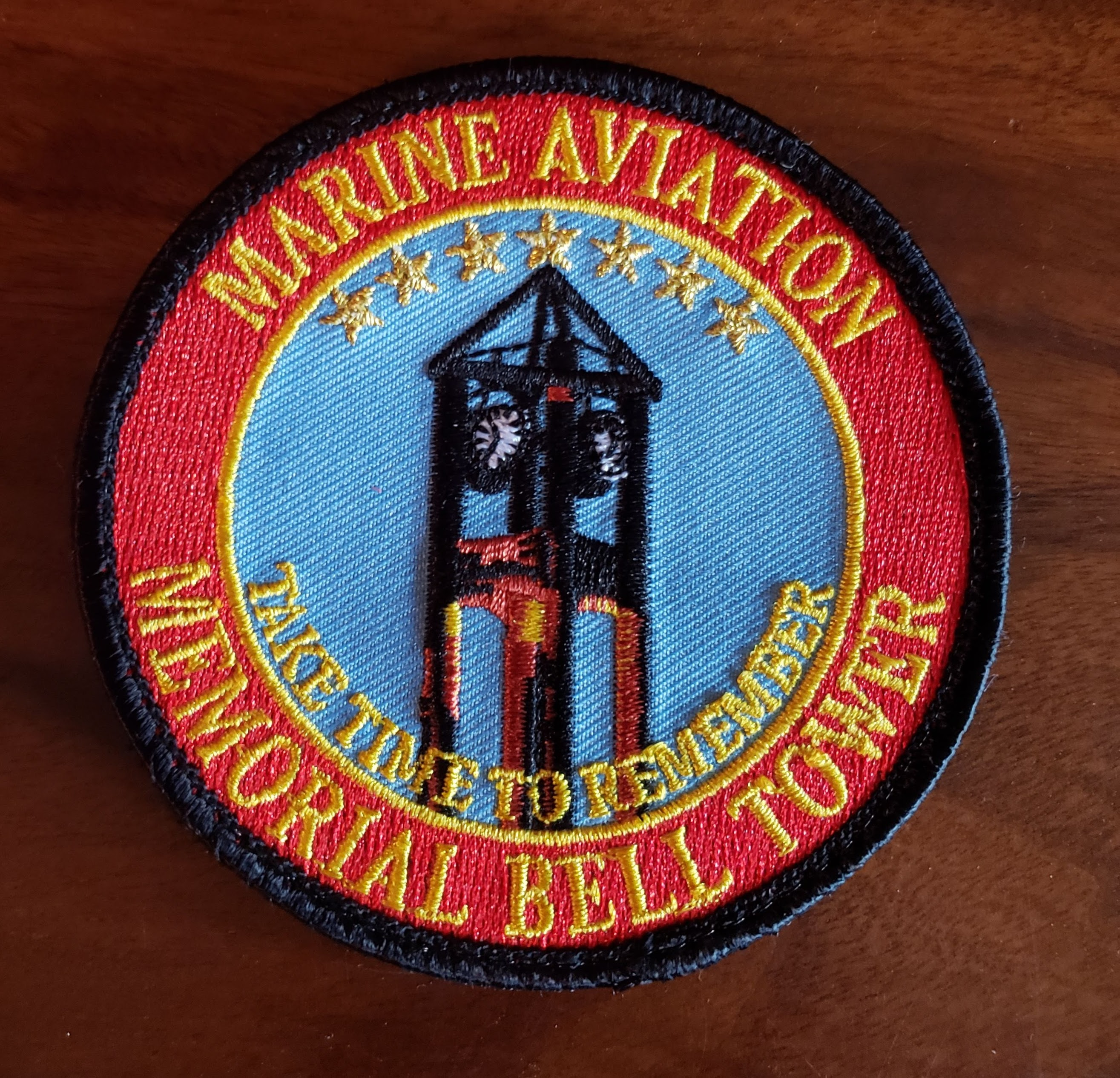 Marine Aviation Bell Tower Memorial Patch