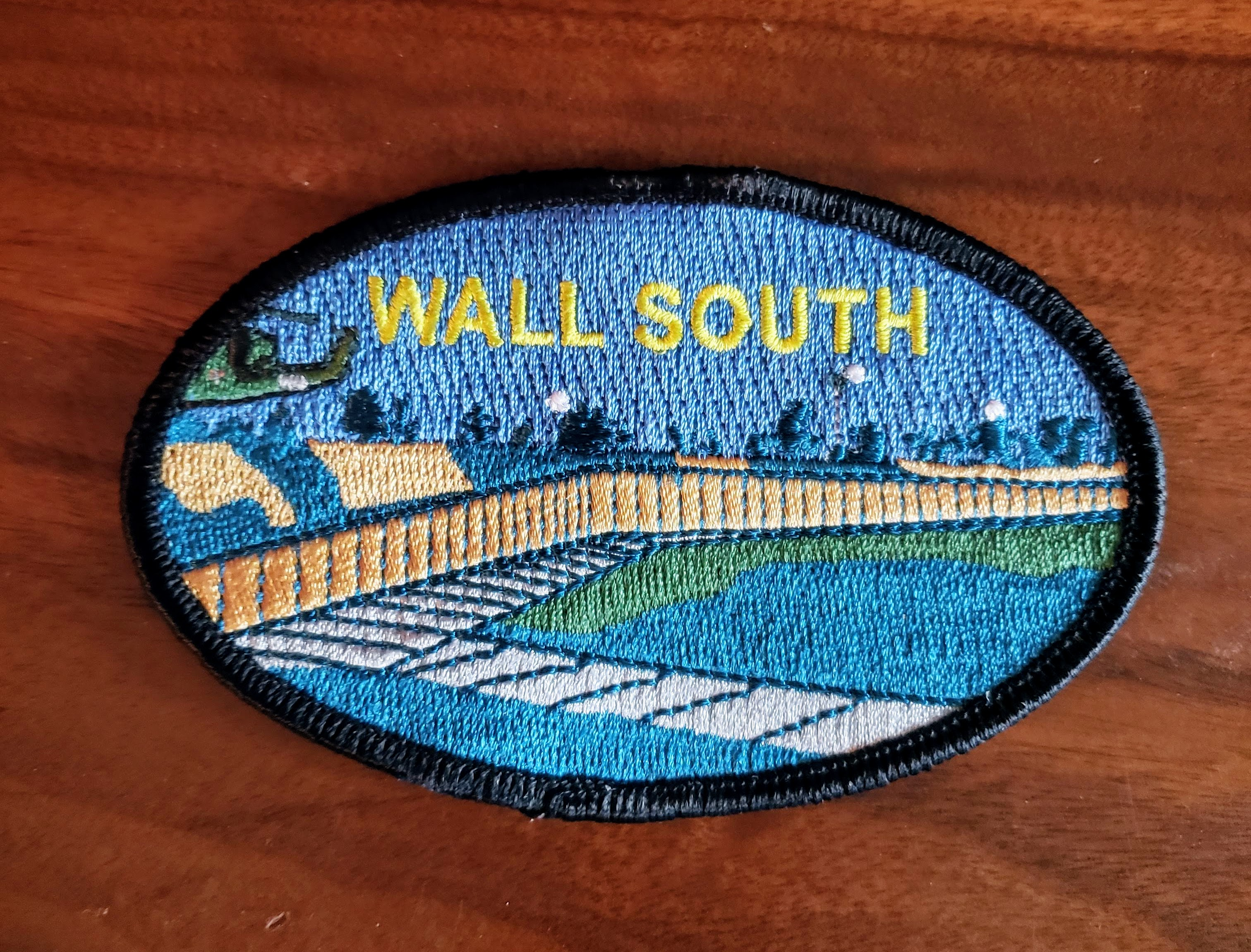 Wall South Memorial Patch