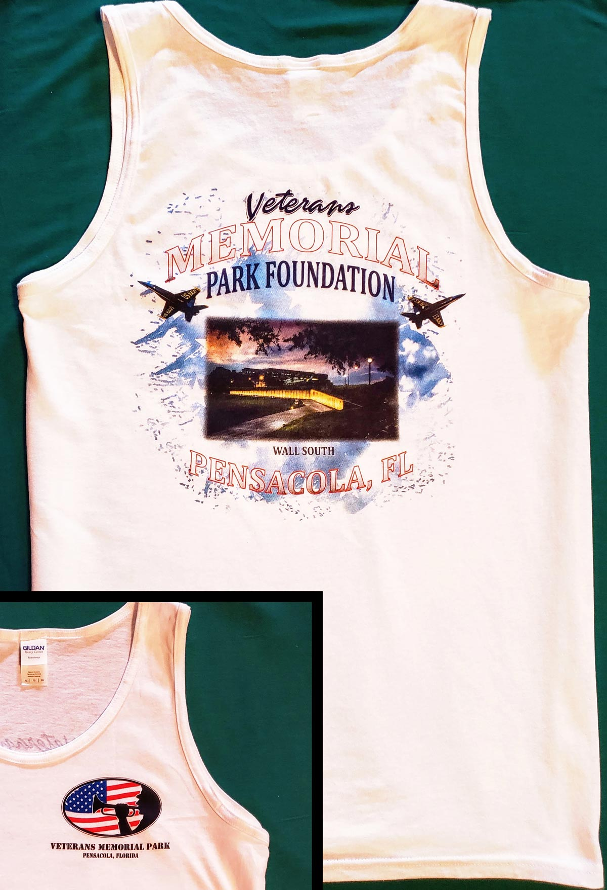 Wall South Memorial Tank-Top