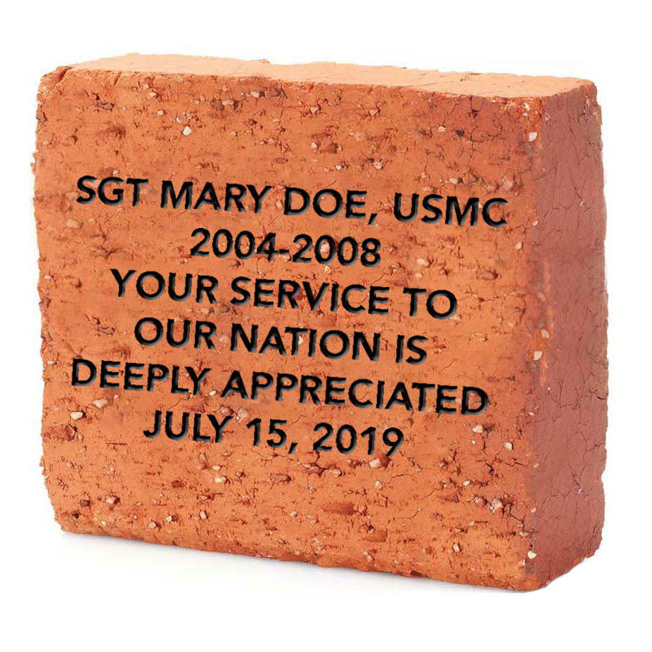 Walk of Honor 8 x 8 Brick