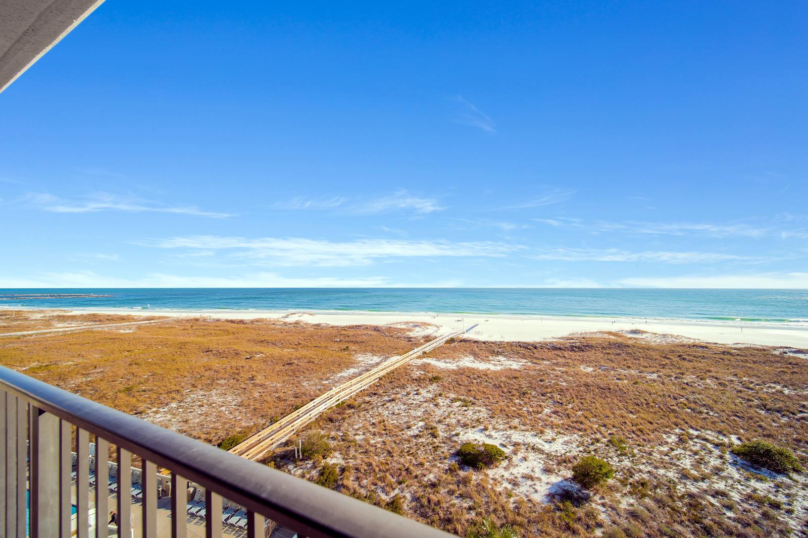 Beautiful View of White Sandy Beaches