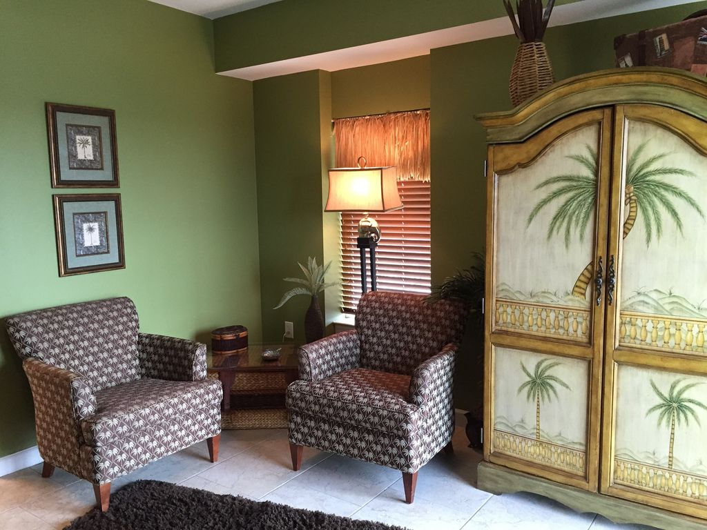 Seating Area in 2nd Master Bedroom