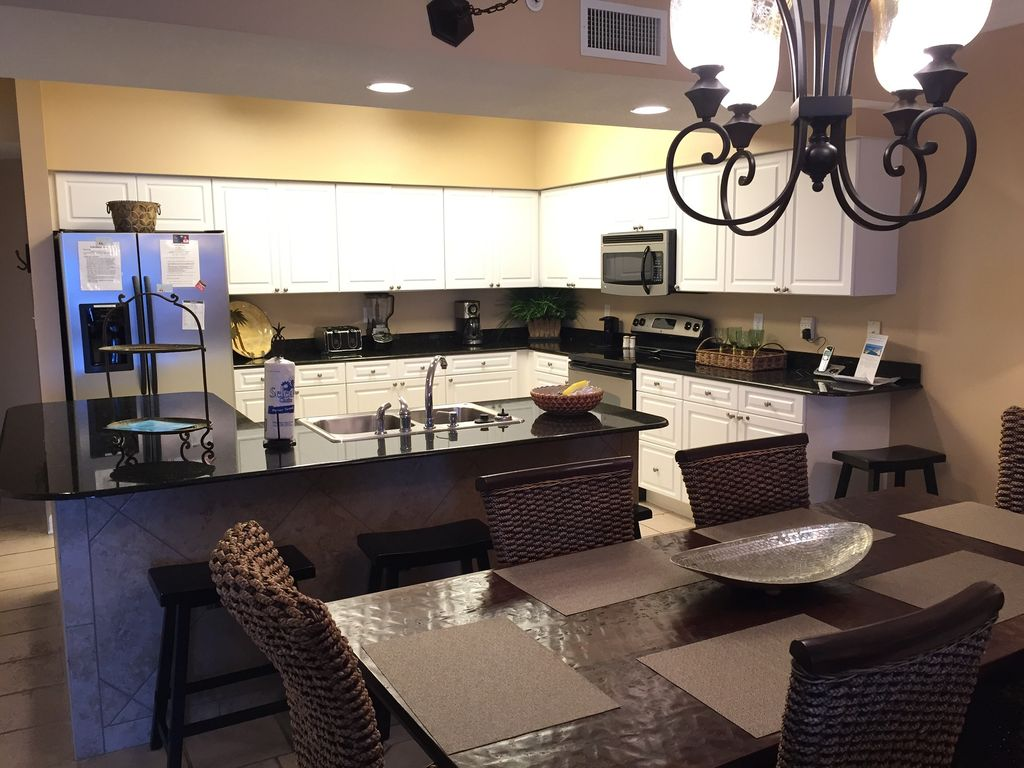 Fully stocked stainless Kitchen with Granite Counter Tops