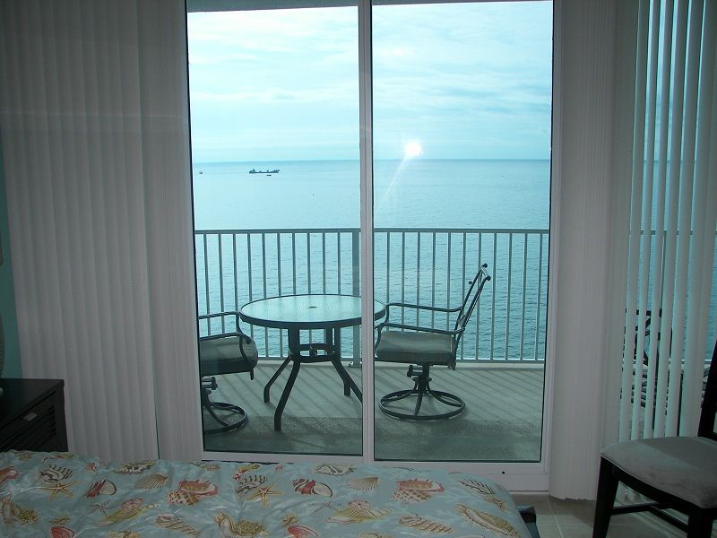 Beach View from Master Bedroom