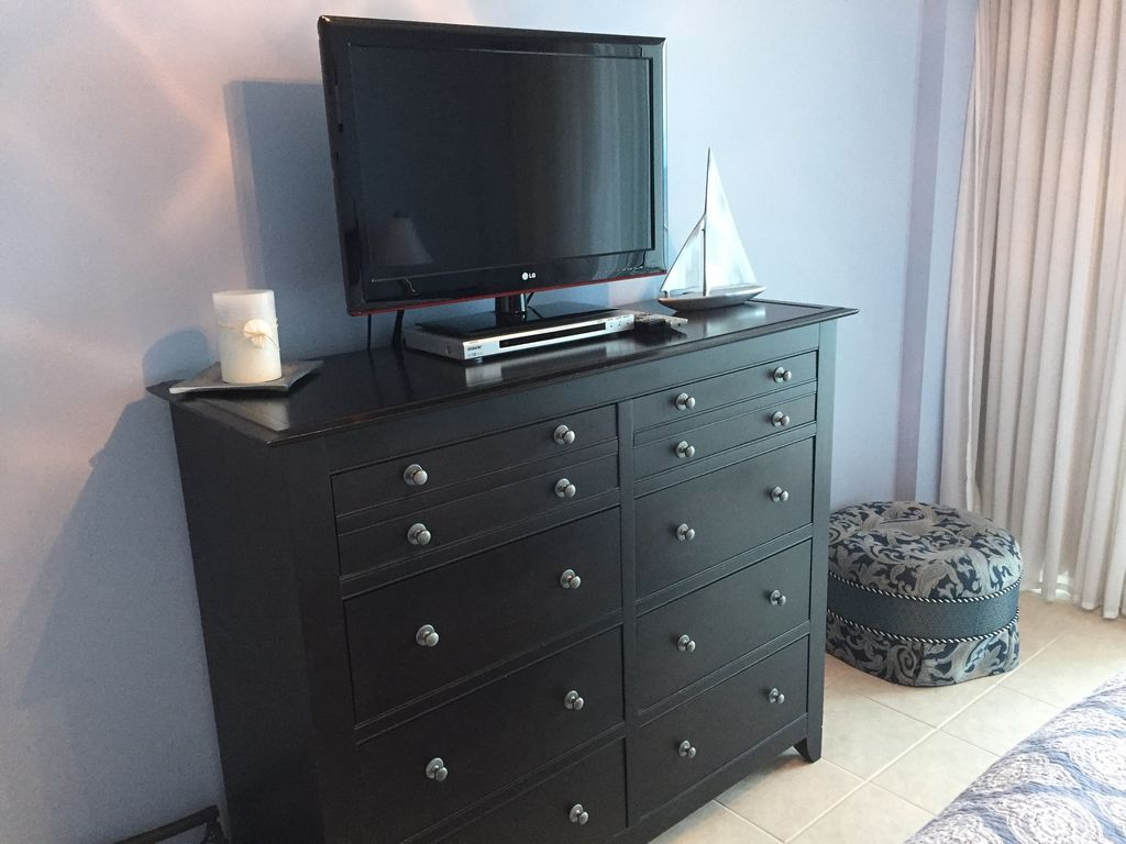 Lighthouse - Dresser in Master with TV & DVD player