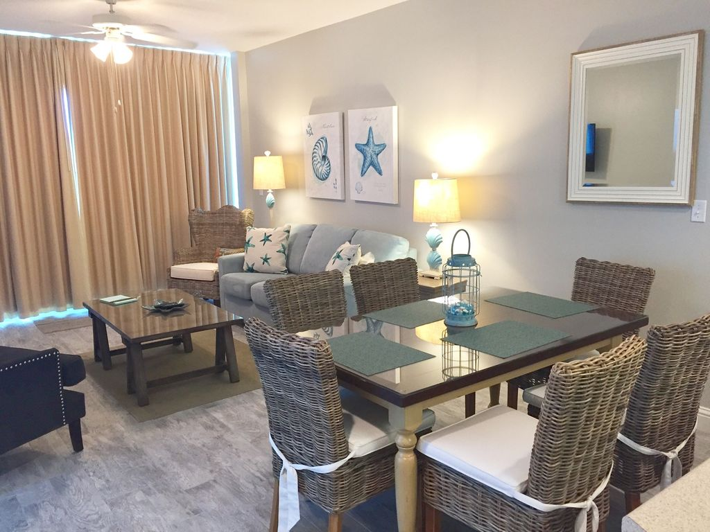View of Living Room and Dining with seating for 6