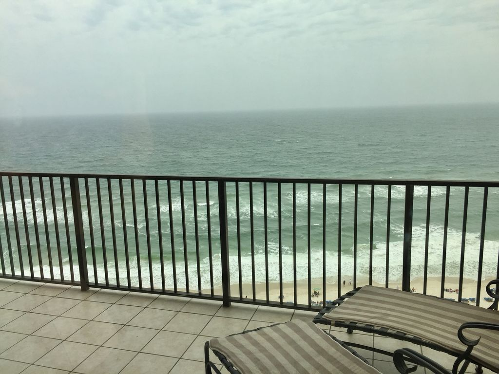 Balcony View of Gulf of Mexico