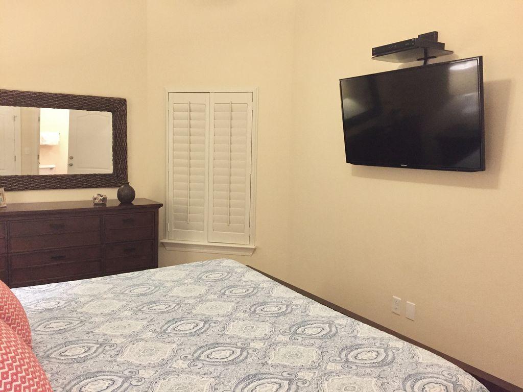 King Guest Bedroom TV