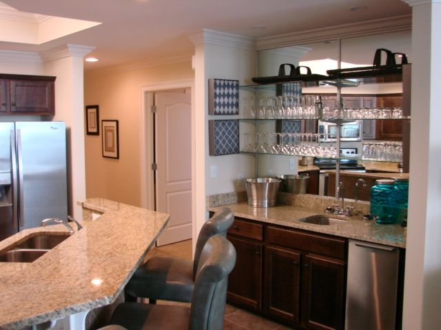 Wet Bar complete with sink and ice maker
