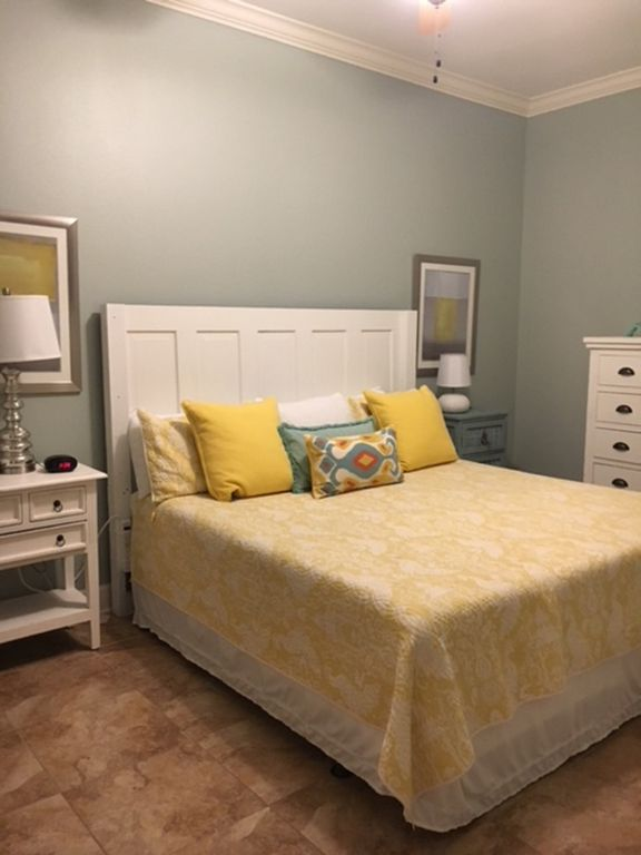 King Guest Bedroom with new Wall Color