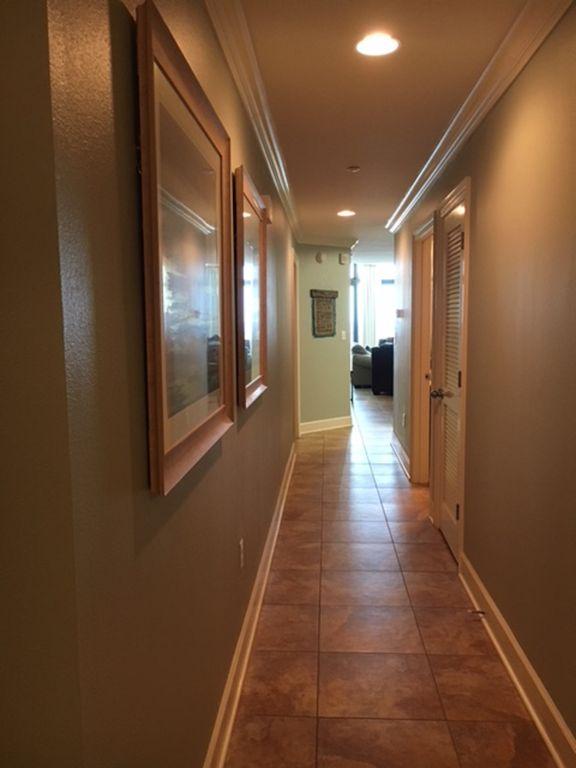 Entrance into Condo New Wall Color