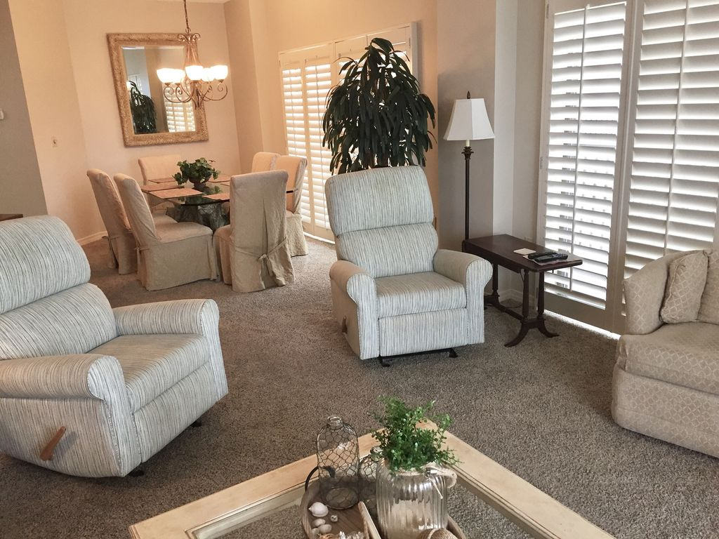 View of Living room recliners