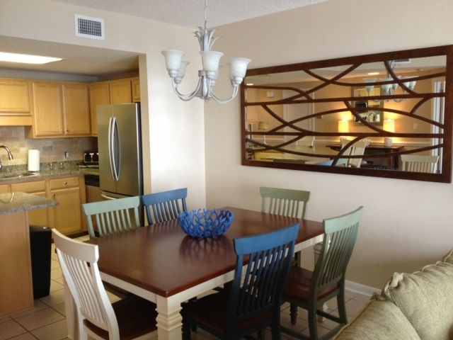 Dining room with Table & seating for six