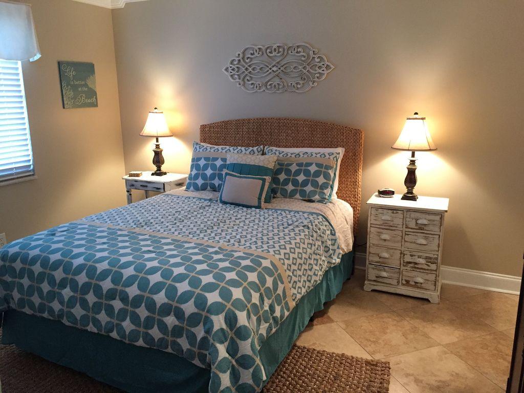 Romar Tower- Coastal styled Guest bedroom